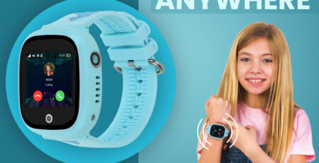 smartwatch for kids with GPS Locator